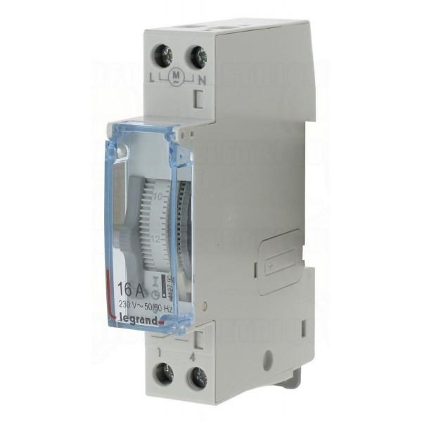 Interrupteur horaire standard Legrand Réf: 412790