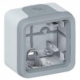 Boitier simple étanche Legrand Plexo composable Réf: 069651