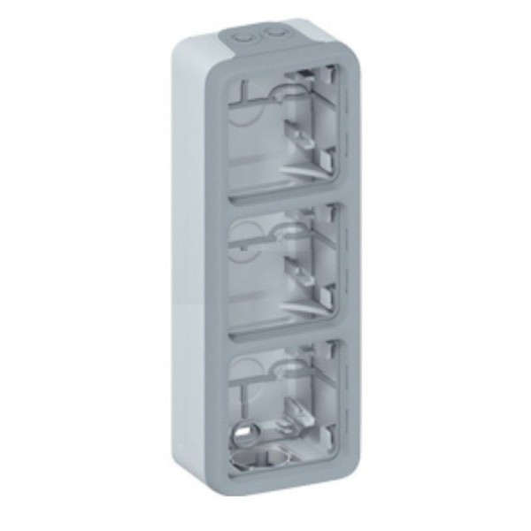 Boitier triple étanche vertical Legrand Plexo Réf: 069679