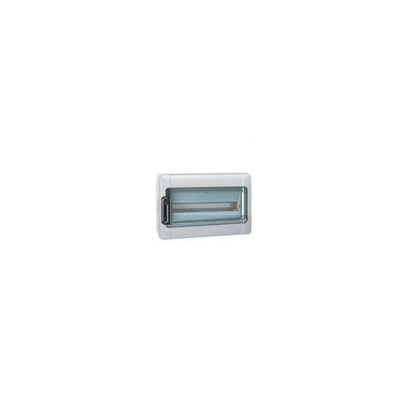 Coffret Etanche Plexo 1 rangée 18 modules IP65 gris Legrand Ref: 001924