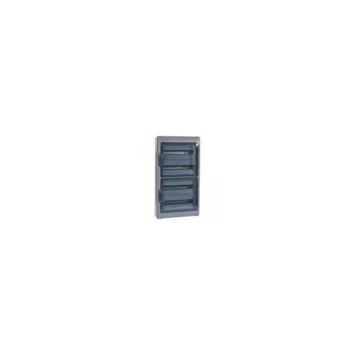 Coffret Etanche Plexo gris 4 rangées 18 modules IP65 Legrand Ref: 001927