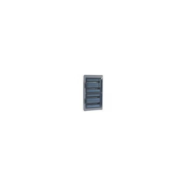 Coffret Plexo 4 rangées 18 modules IP65 Legrand Ref: 001927