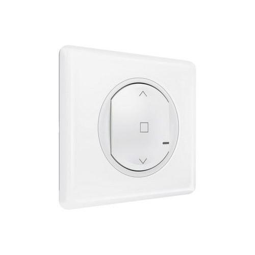 Commande sans fil pour interrupteur de volet roulant connecté blanc Céliane with Netatmo Legrand Réf: 067646