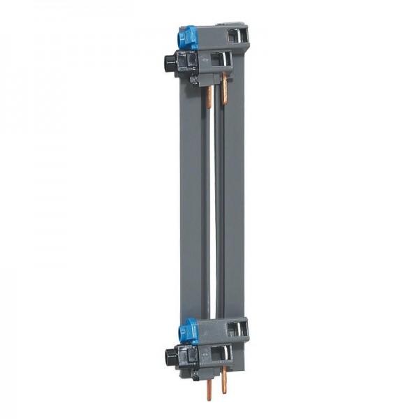 Peigne d'alimentation vertical 2 rangées entraxe 150mm Legrand Réf: 405003