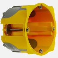 Ecobatibox boite d'encastrement simple isolée Diam 67mm prof 50mm Legrand Réf: 080031