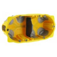 Ecobatibox boite d'encastrement double isolée prof 40mm entraxe 71mm Legrand Réf: 080022