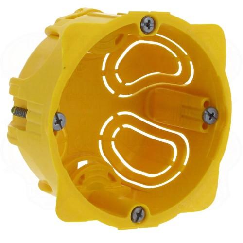 Boîte monoposte Batibox 1 poste ou 2 modules pour cloisons sèches Prof 40mm Legrand Réf: 080041