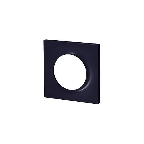 Plaque Odace Styl anthracite 1 poste Schneider Réf: S540702